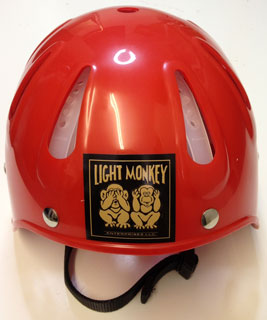 Light Monkey Cave Diving Helmet Red 10 300 012 163 66